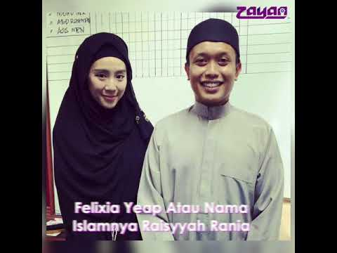 Antara Selebiriti Malaysia Yang Memeluk Islam