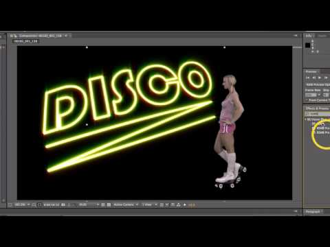 Disco Skater After Effects Tutorial