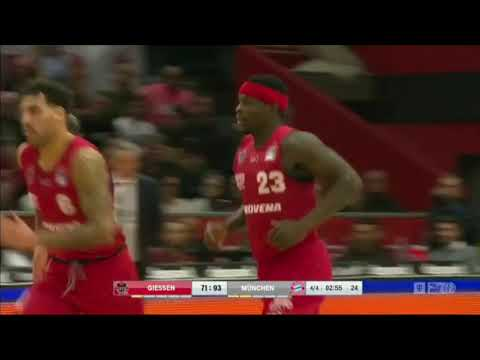 Larry Gordon Highlights from his 2018-19 BBL season in Germany