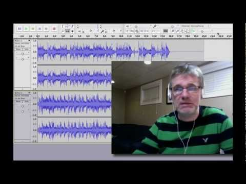 Audacity Tutorial How to Match Beats for Mashup Remix Mix Tape | Edit MP3 Matching