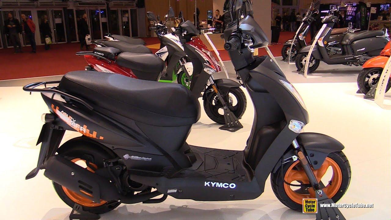 2016 kymco agility 50 fr scooter walkaround 2015 salon de la moto paris youtube. Black Bedroom Furniture Sets. Home Design Ideas