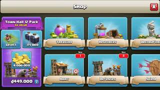Gemming To Town Hall 12 Clash of Clans New Update June 2018