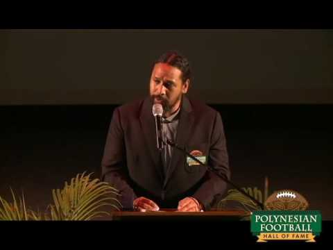 POLYNESIAN FOOTBALL HALL OF FAME ENSHRINEMENT SPEECH VIDEO: TROY POLAMALU