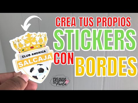 Stickers con Bordes *FACIL*
