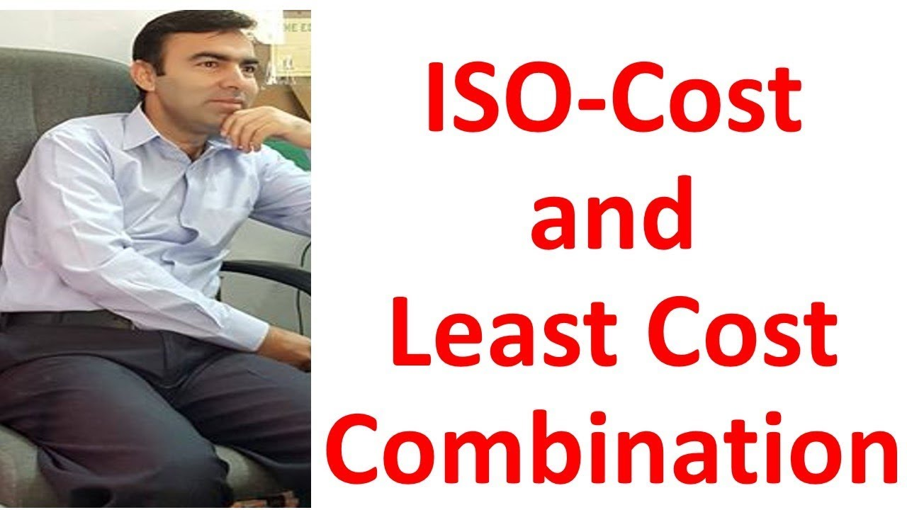 what is least cost combination