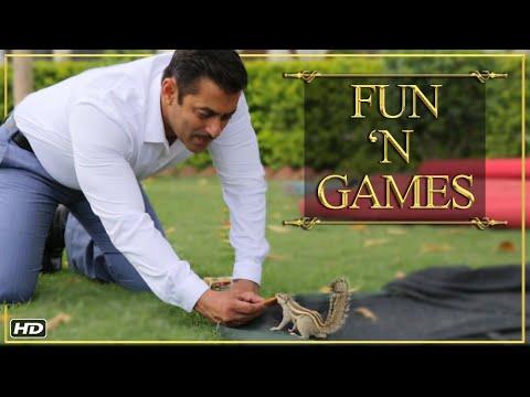 Prem Ratan Dhan Payo | Fun 'N Games | Salman Khan & Sonam Kapoor