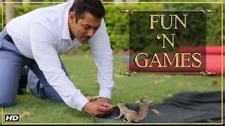 Prem Ratan Dhan Payo   Fun 'N Games   Salman Khan & Sonam Kapoor