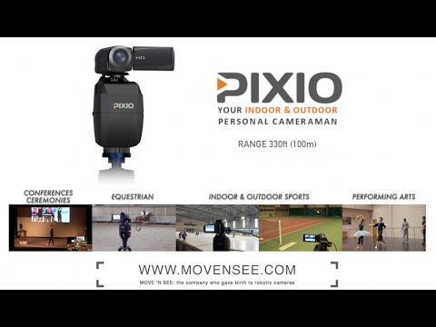 PIXIO world's first auto follow cam for indoors+outdoors