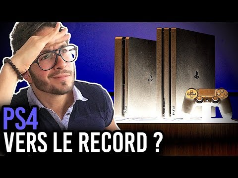 PS4, FUTURE CONSOLE LA + VENDUE DE L'HISTOIRE ?