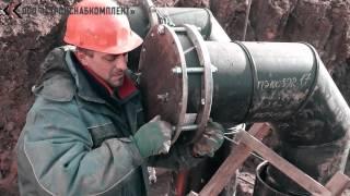 Гидравлическое испытание напорного трубопровода (Полиэтиленовые трубы)(ООО