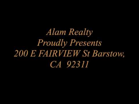 200 E FAIRVIEW St,Barstow, CA  92311