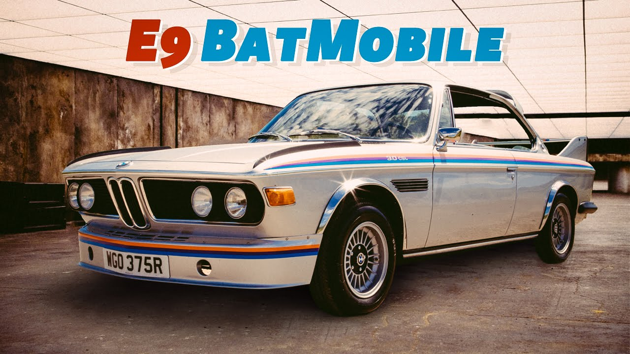 Bmw E9 Batmobile Review The 70s Icon That Blew My Mind Youtube