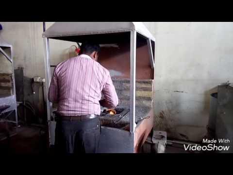 Moulding Iron process (Mechanical process).