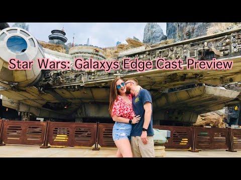 Star Wars: Galaxy's Edge Cast Preview Orlando!!!!
