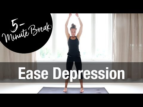 5-Minute Yoga to Ease Depression