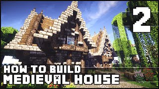 Minecraft How to Build : Medieval House Part 2 + Download YouTube