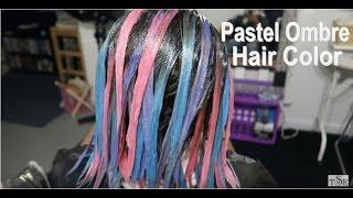 Pastel Hair Color | Purple, Blue & Pink Joico Hair Color Tutorial