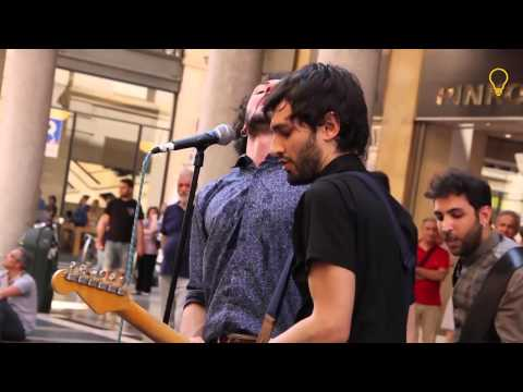 The buskers street band - mini documentario intervista by@IDEALMENTRE IDEALSOUND
