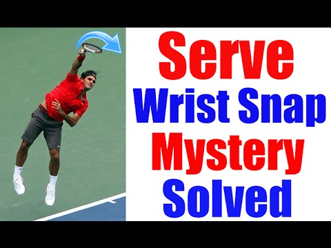 Tennis Serve Cheat | Wrist Snap Mystery Explained