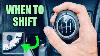 When To Shift Gears For The Best Fuel Economy