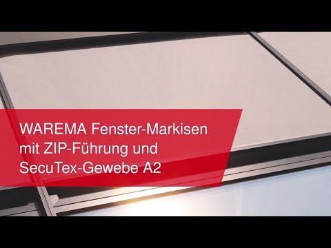 zeitloses Design begehrte Auswahl an beste Auswahl von 2019 WAREMA Fenster-Markisen mit ZIP-Führung und SecuTex-Gewebe ...
