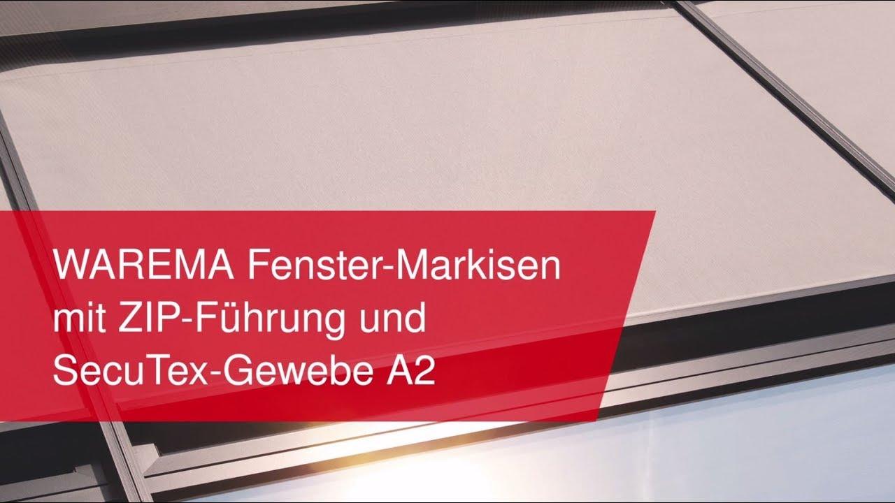 Warema Fenster Markisen Mit Zip F Hrung Und Secutex Gewebe