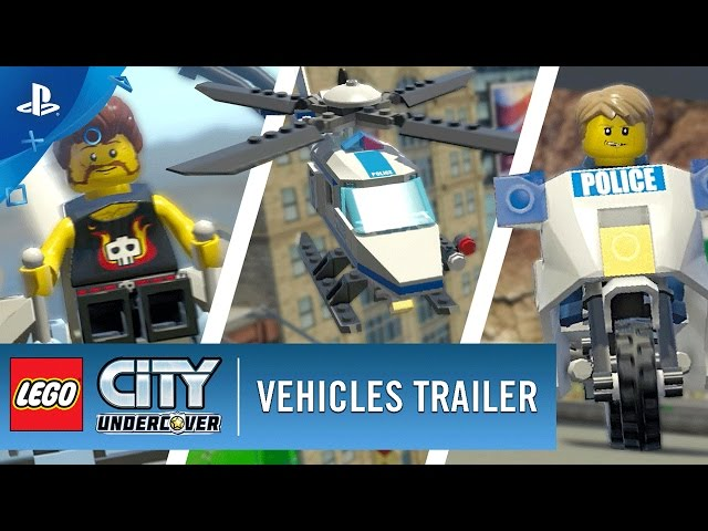 LEGO City Undercover - Vehicles Trailer | PS4