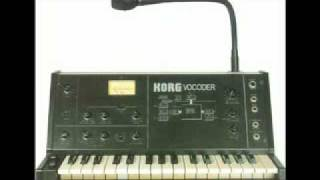 "The Buggles: ""I Love You (Miss Robot)"" / Korg VC-10 Vocoder"