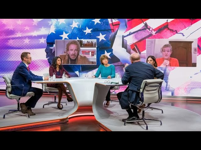 Politik   Maybrit illner Bleibt Trump an der Macht? 5. November 2020