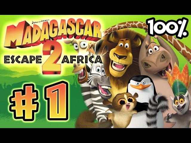 madagascar escape 2 africa game part 1