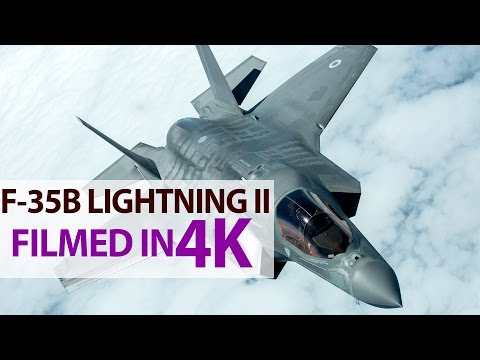 F-35B Lightning II: Flight, Hover and Vertical Landing in 4K