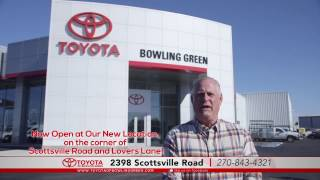 Toyota of Bowling Green Only Location Is Now Open