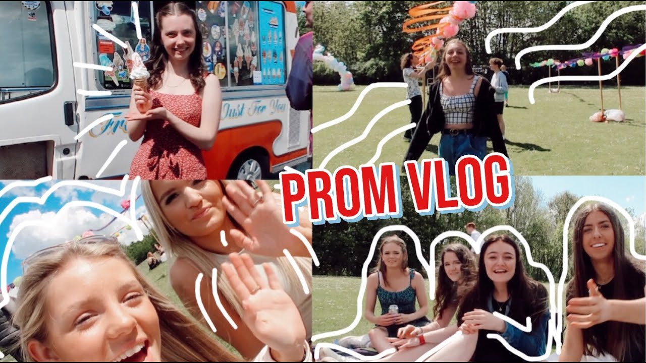 Download PROM VLOG - grwm, set up and attend a british prom with me
