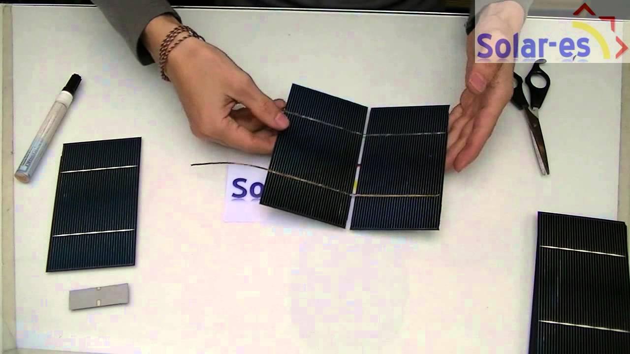 Ensamble Armado Panel Solar Casero Parte 1 Youtube