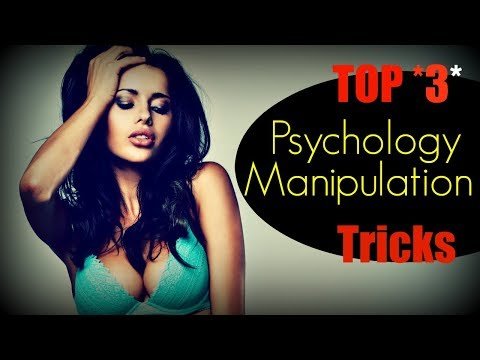 Psychological ❤Manipulation❤ Techniques (In Seduction)