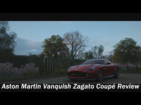 2017 Aston Martin Vanquish Zagato Coupé Review (Forza Horizon 4)
