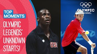Top 10 unknown debuts of Olympic Champions | Top Moments