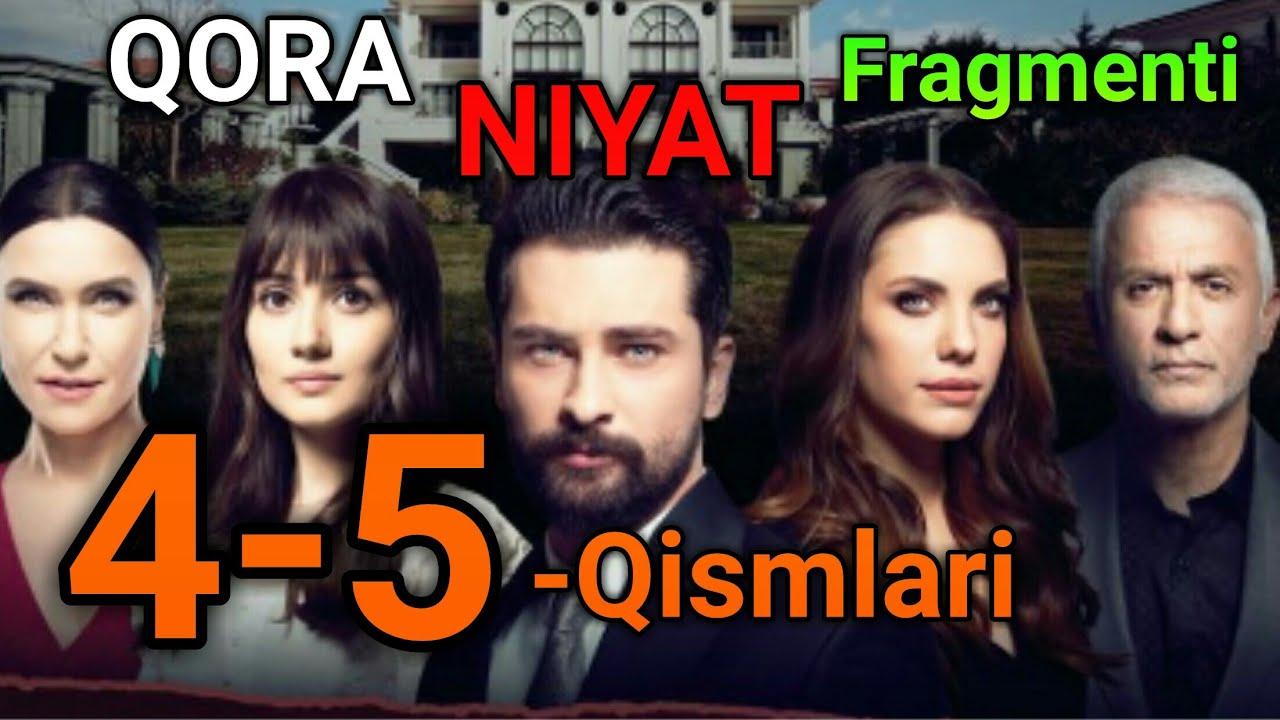 Qora Niyat 4-5 Qismlari Fragmenti Sevimli tv da uzbek tilida