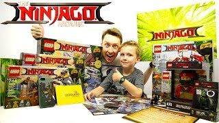 The LEGO NINJAGO Movie в ОГРОМНОЙ ПОСЫЛКЕ для канала Картонка
