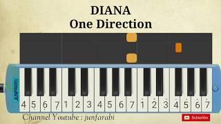 melodika one direction diana not pianika