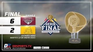 Resumen Gigantes del Cibao vs Águilas Cibaeñas   12 ENE 2021   Serie Final Lidom