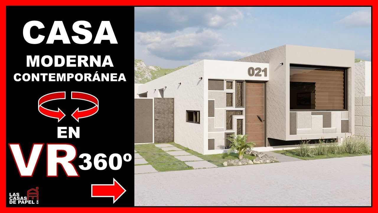 Recorrido Virtual 3d En 360 Vr Casa Moderna Contemporánea Casa Adelaida 021 Youtube