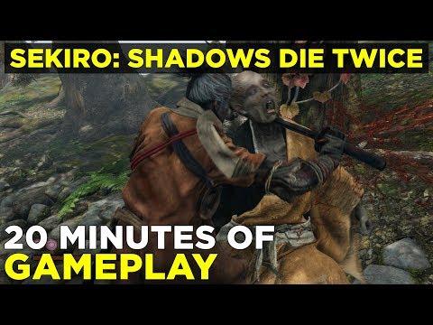 Sekiro: Shadows Die Twice |  minutes of new gameplay