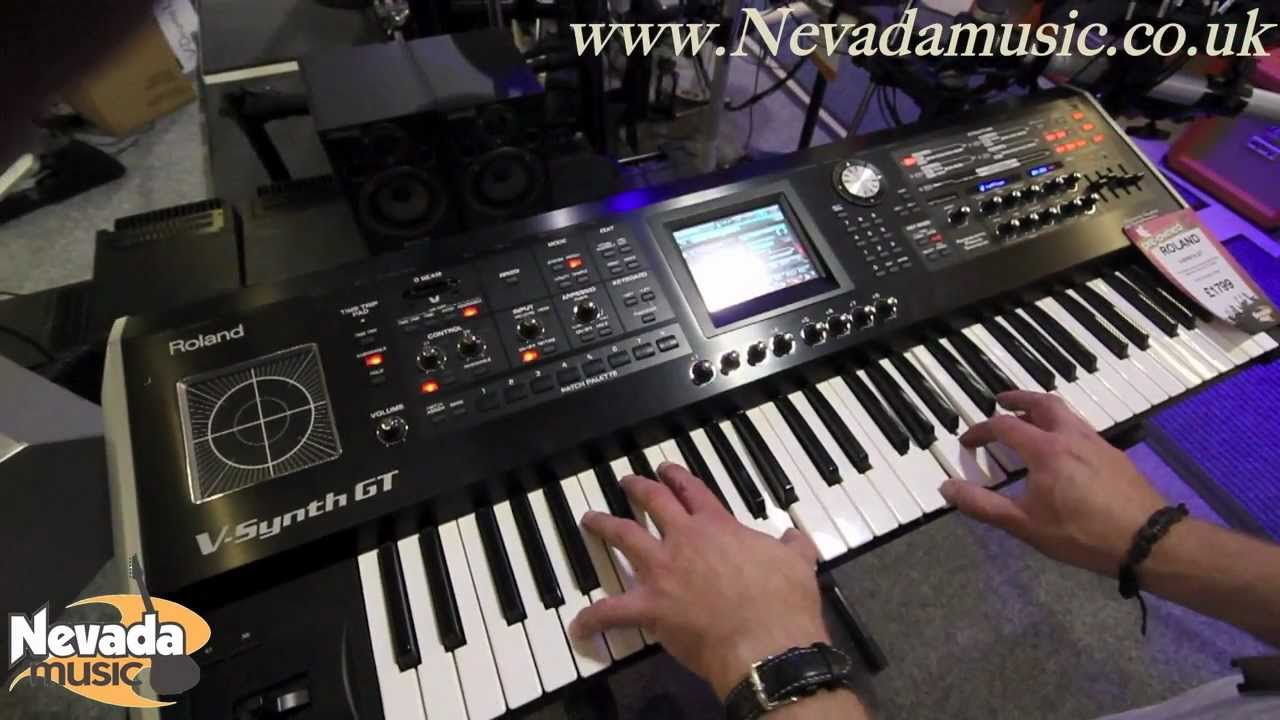 Synth For Sale : used roland v synth gt for sale nevada music uk youtube ~ Vivirlamusica.com Haus und Dekorationen
