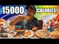 15000 CALORIE EPIC CHEATDAY! Back in America