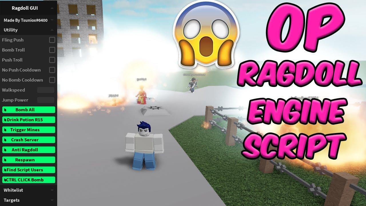 Roblox Ragdoll Engine Gui Free Op Crash Invisibility Server