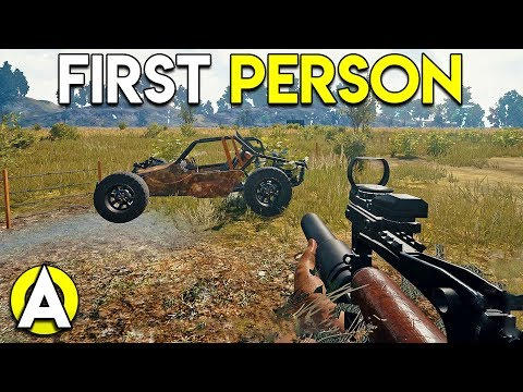 FIRST PERSON! - PLAYERUNKNOWN'S BATTLEGROUNDS