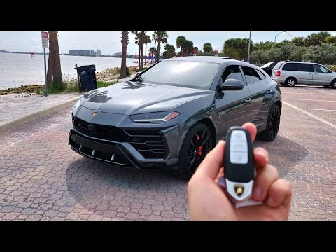 Living with a $250,000 Lamborghini Urus!!