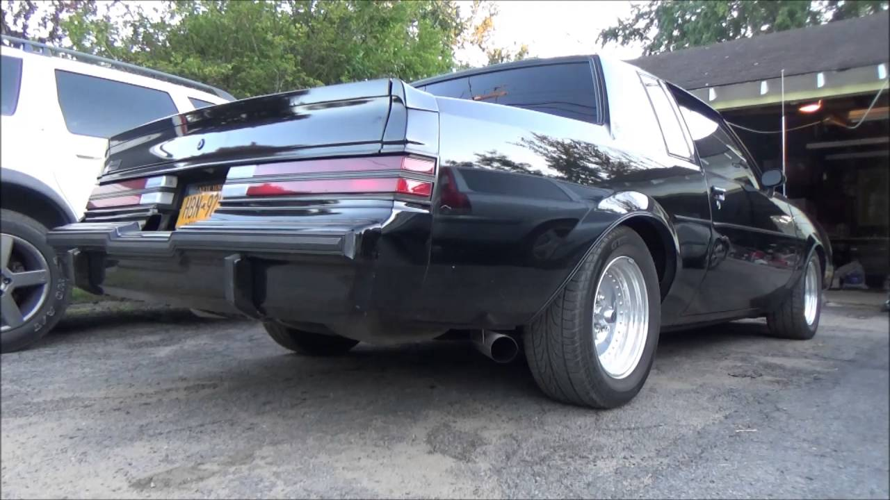 "Buick Grand National 2016 >> 1985 Buick Grand National 3"" Exhaust Cold Start - YouTube"