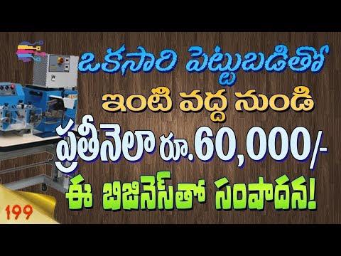 Small Industry Ideas In Telugu